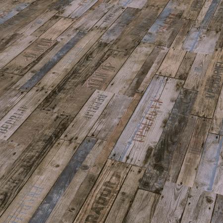 Vinyl 2030 Boxwood Vintage braun Gebürstete Struktur